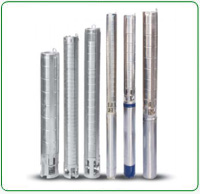 V4 Stainless Steel Borwell Submersible Pumps
