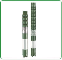 V8 Water filled Borewell Submersible Pump Set