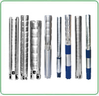 V6 Stainless Steel Borewell Submersible Pump Set