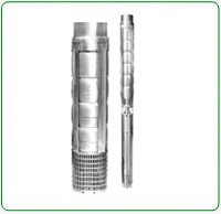 V8 Stainless Steel Borewell Submersible Pump Set